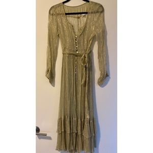 Free People Sparkly Dress
